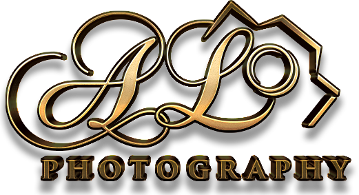 AL photography logo clear background