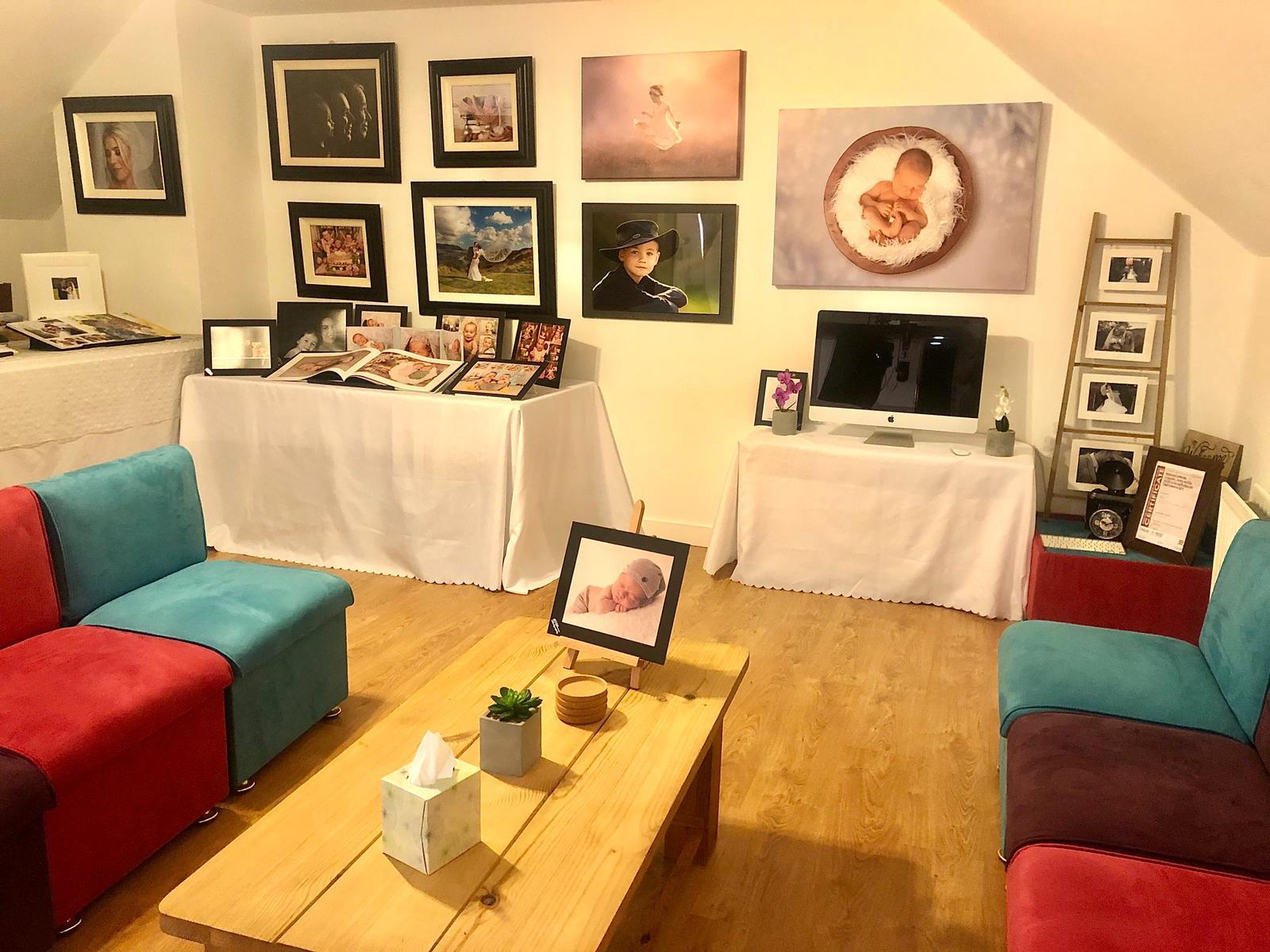 Example of photoshoot studio in Newry